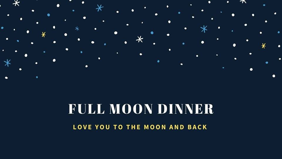 Full Moon Dinner at Chill Out Restaurant.