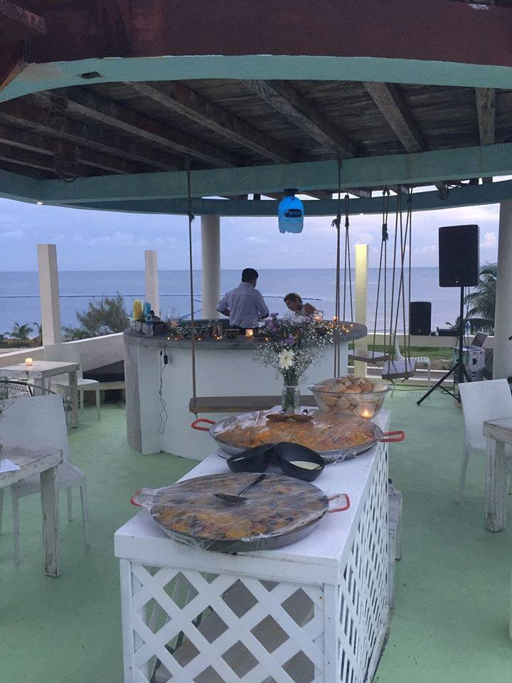 Jaden sings at Xcepted's Rooftop Soiree at LAYLA Puerto Morelos.